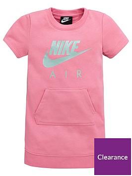 nike-sportswear-air-younger-girls-sweat-dress-pink
