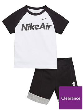 nike-sportswear-air-younger-boys-shorts-set-black