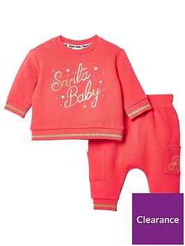 river-island-baby-santa-baby-sweat-set-red