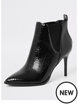 river-island-river-island-wide-fit-skinny-heel-ankle-boot-black