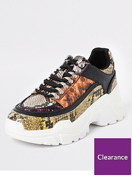 river-island-river-island-croc-embossed-hiker-trainer-multi