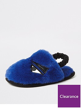 river-island-mini-boys-faux-fur-monster-slippers-blue