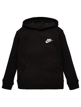 Nike Nike Sportswear Younger Childs Club Overhead Hoodie - Black Picture