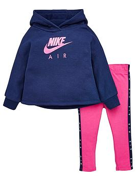 Nike Nike Sportswear Air Toddler Girls Legging Set - Pink Picture