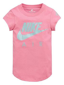 Nike Nike Sportswear Younger Girls Air Futura T-Shirt - Pink Picture