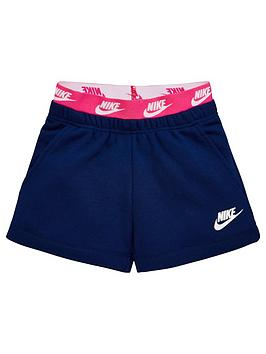 Nike Nike Sportswear Younger Girls Shorts - Blue Picture