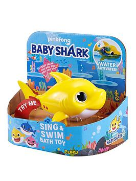 Very  Baby Shark Swim & Sing Bath Toy