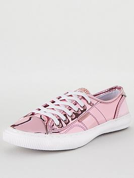 Superdry Superdry Low Pro Luxe Trainer - Pink Picture
