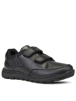 Geox Geox Boys Xunday Strap School Shoe Picture