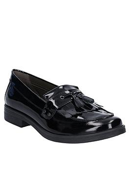 Geox Geox Girls Agata Patent School Shoe Picture