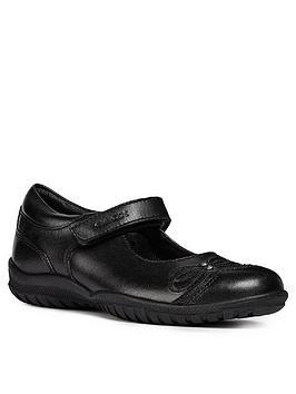 Geox Geox Girls Shadow School Shoe Picture