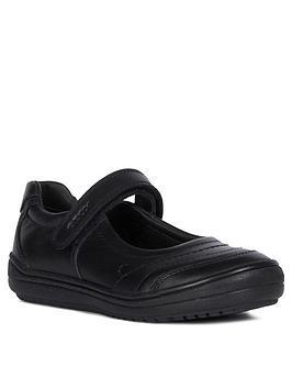 Geox Geox Girls Hadriel Strap School Shoe Picture