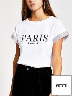 ri-petite-paris-lamour-t-shirt--white