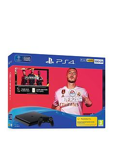 playstation-4-ps4-500gb-fifa-20-bundle-with-optional-extras
