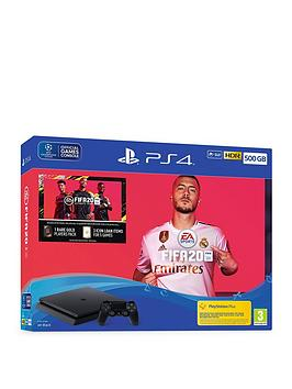 playstation-4-ps4-withnbspfifa-20-andnbspoptional-extras-500gb-console