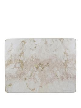 Creative Tops Creative Tops Grey Marble Placemats &Ndash; Set Of 6 Picture