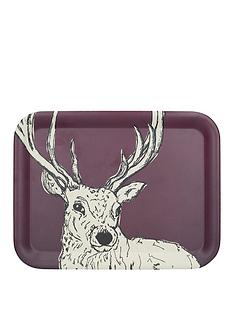 kitchencraft-into-the-wild-stag-large-tray