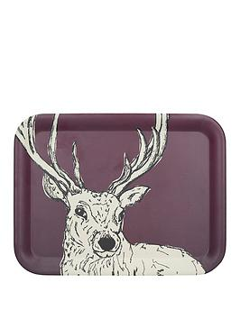 Kitchencraft Kitchencraft Into The Wild Stag Large Tray &Ndash; 25.5 X  ... Picture