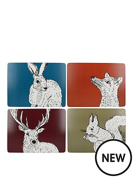 kitchencraft-into-the-wild-pack-of-4-premium-placemats