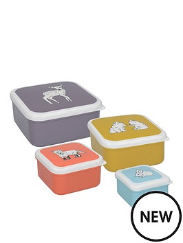 kitchencraft-into-the-wild-little-explorer-set-of-4-snack-tubs