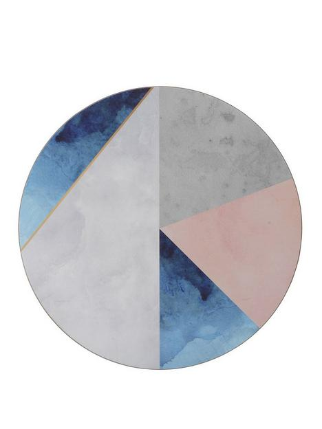 creative-tops-geometric-palette-round-premium-placemats-ndash-pack-of-4