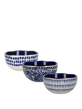 Kitchencraft Kitchencraft Mikasa Azores Speckle Dipping Bowls &Ndash; Set  ... Picture