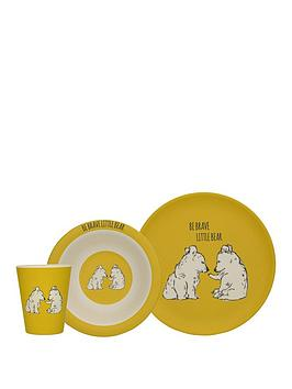 kitchencraft-into-the-wild-little-explorers-bear-3-piece-kids-dining-set
