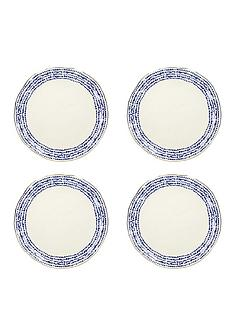 kitchencraft-mikasa-azores-speckle-dinner-plates-ndash-set-of-4