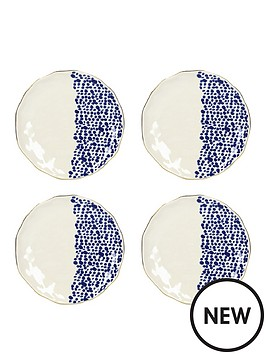 kitchencraft-mikasa-azores-speckle-side-plate-set-of-4
