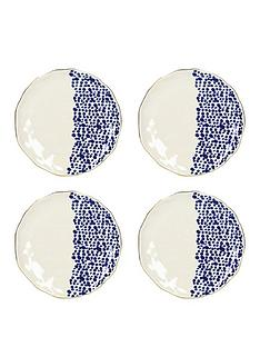 kitchencraft-mikasa-azores-speckle-side-plates-ndash-set-of-4