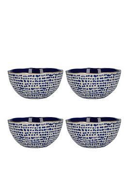 Kitchencraft Kitchencraft Mikasa Azores Speckle Cereal Bowls &Ndash; Set  ... Picture