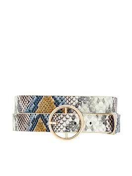 accessorize-snake-jeans-belt-multi