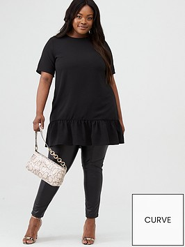 ax-paris-curve-ax-paris-curve-dip-hem-tunic-black