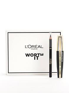 loreal-paris-loreal-paris-mascara-eye-makeup-kit-volume-million-lashes-mascara-and-black-khol-eyeliner