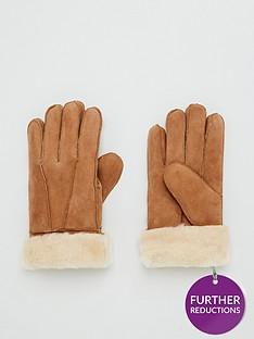 v-by-very-real-suede-sheepskin-glove-chestnut
