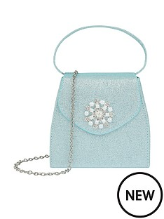 monsoon-girls-princess-snowflake-bag-blue