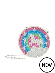 monsoon-girls-rainbow-dazzle-unicorn-round-bag-multi