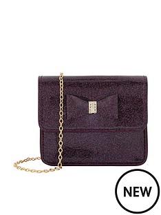 monsoon-girls-josephine-patent-glitter-bag