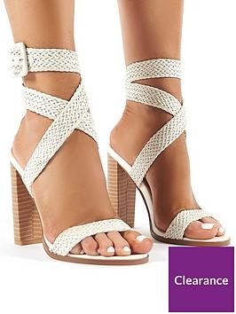 public-desire-rapunzel-heeled-sandals-white