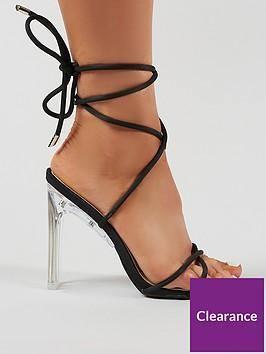 public-desire-amplify-heeled-sandals-black