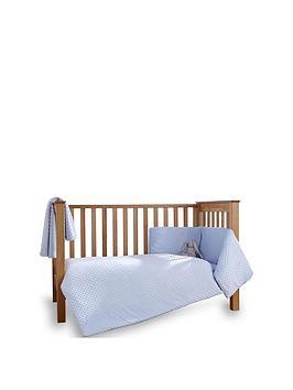 Clair De Lune Clair De Lune Clair De Lune Dimple Cot/Cot Bed Quilt Bumper  ... Picture