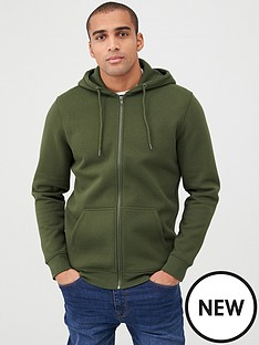 v-by-very-zip-through-hoodie-green