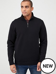 v-by-very-essentials-quarter-zip-funnel-neck