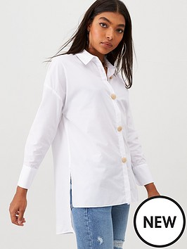 river-island-button-front-shirt-white