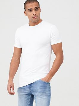 V by Very V By Very Muscle Fit Tee - White Picture