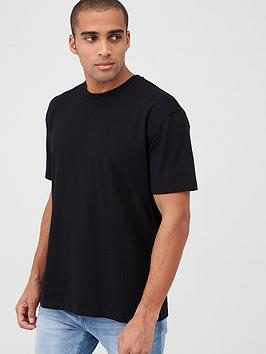 V by Very V By Very Oversized T-Shirt - Black Picture