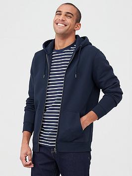 V by Very V By Very Zip Through Hoodie - Navy