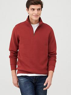 v-by-very-quarter-zip-funnel-neck-hoodie-burgundy