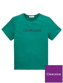 calvin-klein-jeans-boys-short-sleeve-logo-t-shirt-green