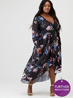 little-mistress-curve-printed-jaquard-wrap-maxi-dress-multinbsp